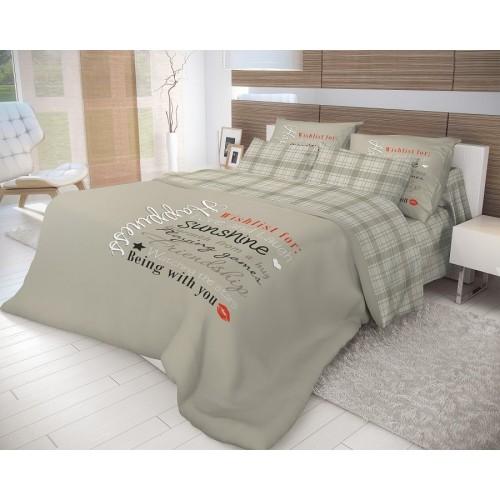 Комплект постельного белья Волшебная ночь «Happiness»